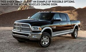 2017 Ram 2500 New Car Loaded SLT|4x4|Diesel|Crew|6.3Box|BlkAppr,