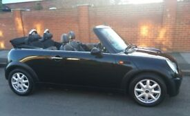 2005 MINI COOPER CABRIOLET LOW MILEAGE POWER ROOF LEATHER TRIM SERVICE HISTORY CONVERTIBLE COOPER