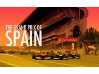 X2 Spanish Grand Prix tickets - 3 day weekend