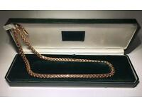 Gold chain 14ct 585 Bismark 78g, solid gold new, not scrap. Not 9ct, 18ct!