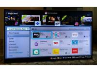 65in Samsung Smart 3D LED TV WI-FI 1080P Freeview HD & FreeSat HD [NO STAND]
