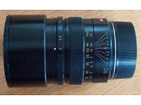 Leica M Summicron f/2 90 mm lens with Leica UV filter. Very good condition
