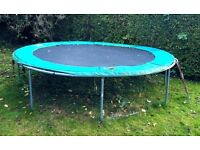 Trampoline - 12 foot. FREE to 1st person to agree to dismantle and collect from NG13 9AL