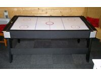Air Hockey & Pool/Snooker Combination Table (Strikeworth 6' from Liberty Games)