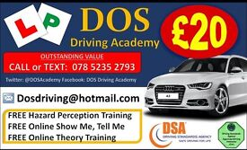 MANUAL QUALITY DRIVING LESSONS. £20 PER HOUR