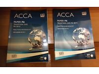 ACCA Paper study text book