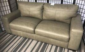 Hampshire 3 Seater Premium Leather Sofa NEW RRP £749