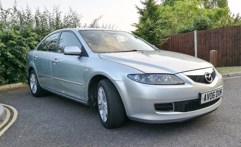 mazda 6 2006 silver lovely family car clean and tidy. Black Bedroom Furniture Sets. Home Design Ideas