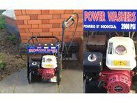 Pressure/Power Washer 2900spi Petrol Honda GP200 Engine £80 ono / good working conditions