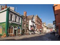 Bristol Desk Space to Rent in Friendly Office- BRISTOL CITY CENTRE (King Street) Large and Bright