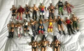 WWE Jakks Joblot figures Legends