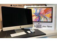 """ Apple iMac 27"""" Retina 5K 🖥 Intel i5 3.2 Ghz ⚙️ 8 GB RAM 🗄 1 TB Hard Drive 👾 2Gb Radeon M380"""