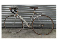 Vintage Flying Scot Bicycle – we thought so but not quite – vintage barn find for restoration