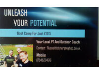 1 on 1 training sessions for just £10's