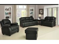 **FREE DELIVERY NEW LEATHER RECLINER SALE NOW ON**