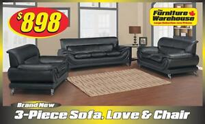 3-Piece Sofa Set Deal-Only $898