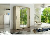 **14-DAY MONEY BACK GUARANTEE!** Hamburg Sliding Door German Designed Wardrobe- EXPRESS DELIVERY!