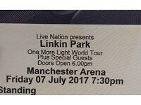 x2 Linkin Park Tickets