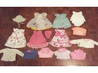 0-3 months girls Bundle mostly jojo maman Bebe or Gap