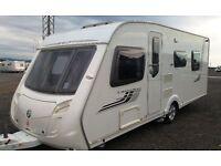 SWIFT CHALLENGER 560, 4 BERTH ISLAND BED CARAVAN - Facelift 2008 model