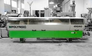Polymac Edgebander Ergho 5 Single Sided Edgebander