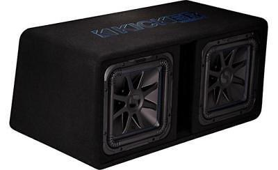 L7-box (KICKER 44DL7S122 DUAL LOADED L 7 BOX 2 OHM 1500 WATT)