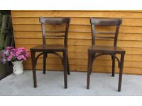 2 Artex retro chairs cafe bistro chairs dining chairs FREE DELIVERY WITHIN MY RANGE LE3