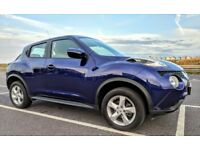 2015 NISSAN JUKE VISIA 1.6 - LOW LOW MILES - ONE OWNER FROM NEW - FRESH 1st MOT