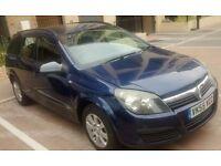 Vauxhall Astra club 1.6 estate petrol 16v Twinport ,2005, Long MOT