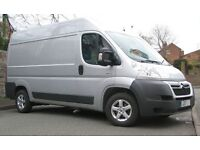 VAN HIRE AND MAN FROM £15 RELIABLE HARDWORKING PROFESSIONAL Removal Services
