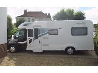 Bailey Autograph 765 - 6 berth 2016 Motorhome ( As new )