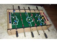"TABLE TOP FOOTBALL GAME New 34"" x 20"" with balls XMAS GIFT"