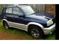 2 x Suzuki Grand Vitaras. Same model and engine