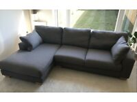 3-4 seater chaise sofa