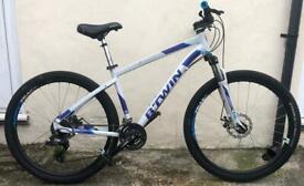 Btwin Rockrider 520 Hardtail Mountain Bike / Cannondale Trek Giant Carrera