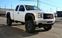 2012 GMC SIERRA 2500HD EXTENDED CAB 4 X 4, 7 LIFT, 37 TIRES, BIG