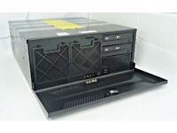CORE2QUAD PC. 500GB DISK, RADEON R7 250 4GB RAM. SERVER TYPE CASE
