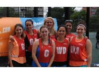 Join a friendly netball team