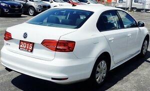 2015 Volkswagen Jetta Trendline 2.0 6sp at Former Daily Rental Kitchener / Waterloo Kitchener Area image 7
