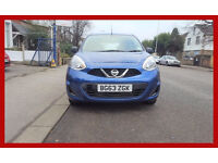 Automatic --- 2013 Nissan Micra 1.2 --- Low 25000 Miles --- New MOT ---- alternate4 yaris corsa polo