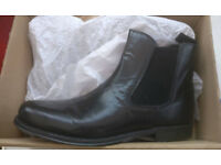 Details about chelsea boots (shoes), Size 9 UK, Black, Leather