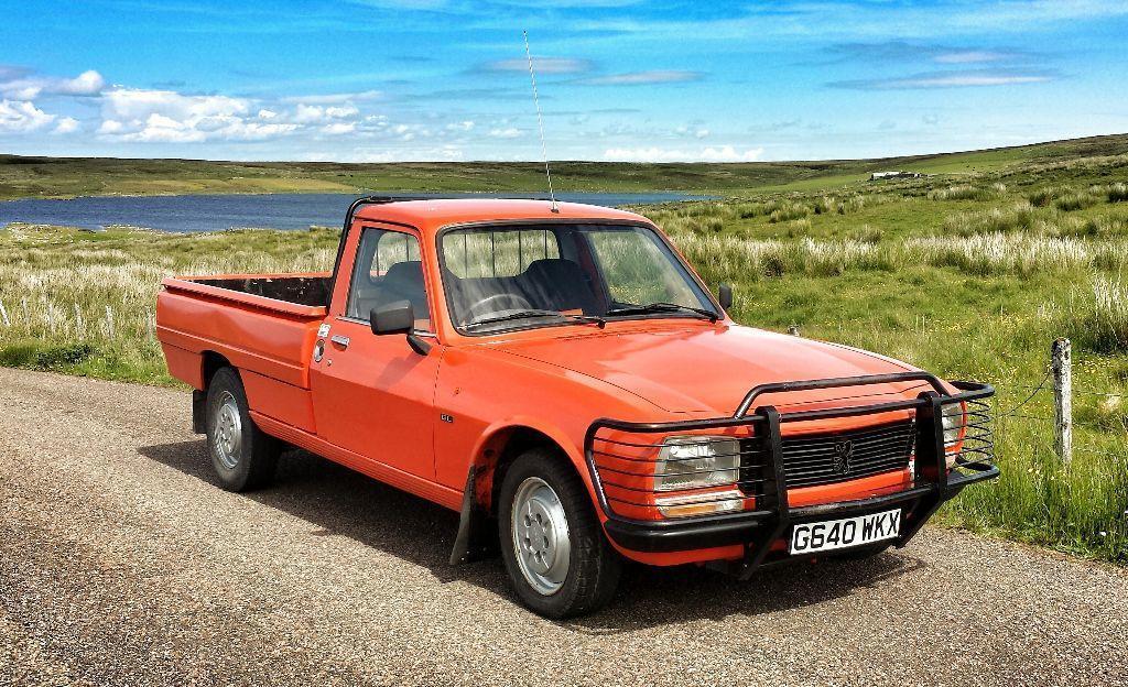 1990 peugeot 504 pickup gl diesel in lybster highland gumtree. Black Bedroom Furniture Sets. Home Design Ideas