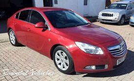 2009 Vauxhall Insignia SRI Cdti DIESEL hatch, 90k serv his metc red/ grey int Lovely car 12 mths mot