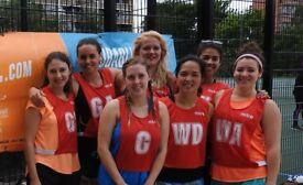 Ladies Recreational Netball League