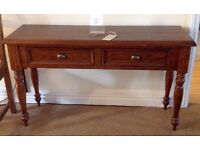 New Anrique Finish Console Table,stunning item one of a kind,available with or with out chairs