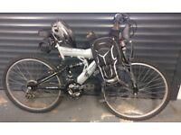 SUS 550 Shockwave Mountain Bike & Brand New Accessories