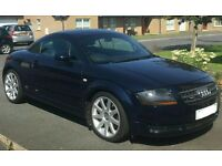 LOVELY AUDI TT LATE 2005 190bhp DARK METALLIC BLUE TAN LEATHER
