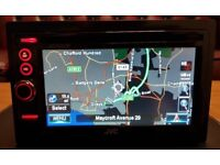JVC KW-NT3 Double Din Sat Nav Gps Touch Screen With Europen Mapping Built in Bluetooth DVD / MP3 /CD