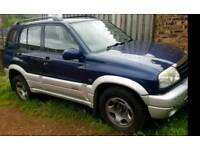 2 x Suzuki Grand Vitaras. same model and engine. Please read
