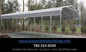 Steel Carports - Made to last - Portable